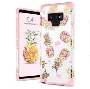 Cute Case for Galaxy Note 9 Pineapple